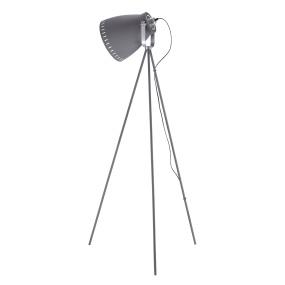 Eva Dove White Tripod Floor Lamp