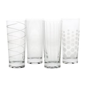 Mikasa Cheers Set of 4 Highball Glasses