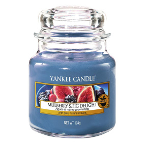 Yankee Candle Mulberry Fig Small Jar