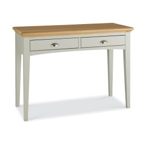 Henley Soft Grey and Oak Dressing Table