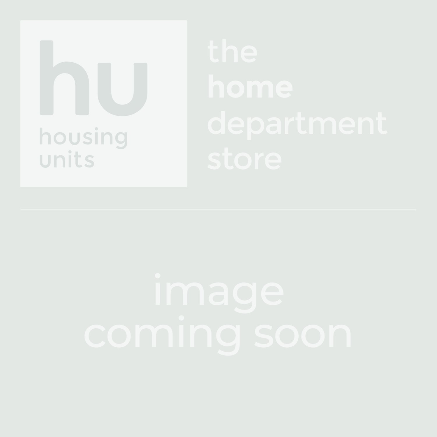 Gatsby Grey Leather Footstool - In Roomset