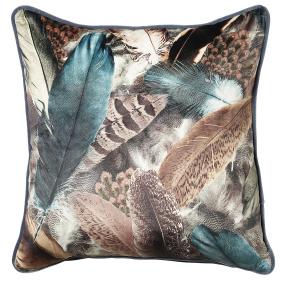 Scatter Box Stormi Teal Cushion