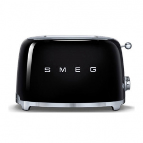 Smeg 50's Retro Style Black 2 Slice Toaster