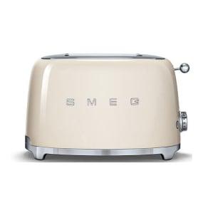 Smeg 50's Retro Style Cream 2 Slice Toaster