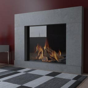 Avanti Grey Danube Limestone Fire Surround