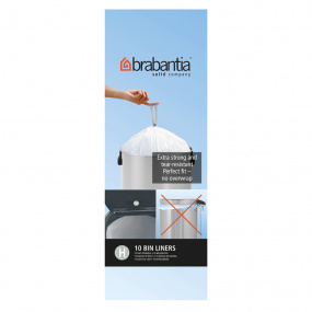 Brabantia 50 Litre Bin Liners - Size H