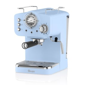 Swan Retro Blue Pump Espresso Machine