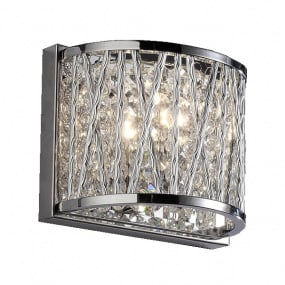 Lefes Chrome Wall Light