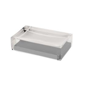 Rainbow Silver Soap Dish