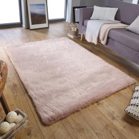 Fairmont Dusky Pink 160cm x 230cm Rug
