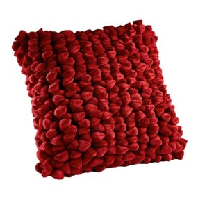 Dreamweavers Cherry Pebble Cushion