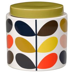 Orla Kiely Multicolour Linear Stem 1 Litre Storage Jar