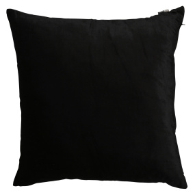 Malini Velveteen Black Cushion