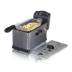 Swan 3 Litre Stainless Steel Fryer