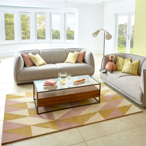 Reef RF06 Flag Pink & Yellow Rug Collection