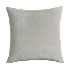 Jaipur silver square cushion