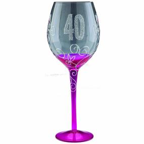 Clear Wine Glass - 40
