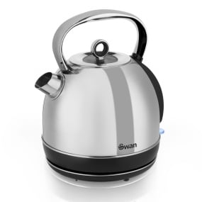 Swan Stainless Steel 1.7Lt Dome Kettle
