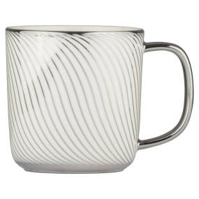 Swirl Platinum Mug