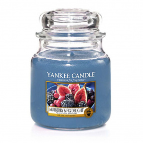 Yankee Candle Mulberry Fig Medium Jar