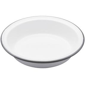 Living Nostalgia Enamel Round 18cm Pie Dish