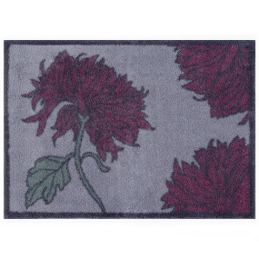 Turtle Mat RHS Chrysanthemum Floor Mat
