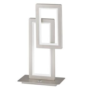Wofi Viso Nickel LED Table Lamp