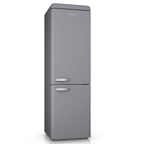 Swan Retro Grey 70/30 Fridge Freezer