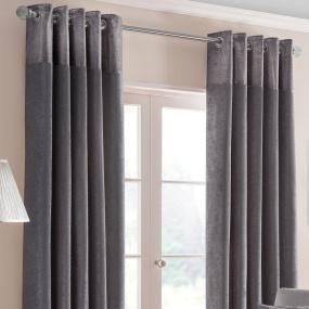 Belfield Nova Pewter 66x72 Curtains