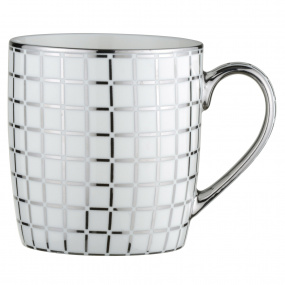 Lattice Platinum Mug