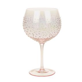 Rose Gold Lustre Gin Copa Glass