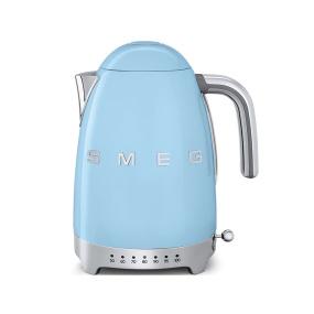 Smeg 50's Retro Style Pastel Blue Temperature Control Kettle