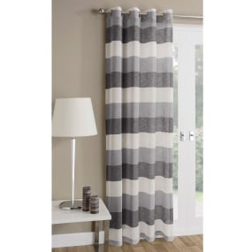 Mykonos Grey Voile Panels 72""