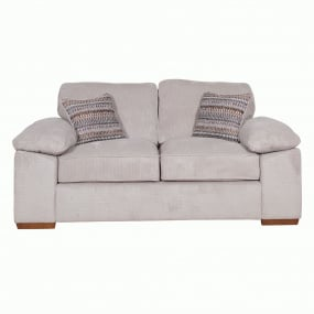 Alexander Stone Fabric 2 Seater Sofa