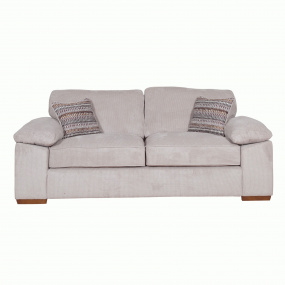 Alexander Stone Fabric 3 Seater Sofa
