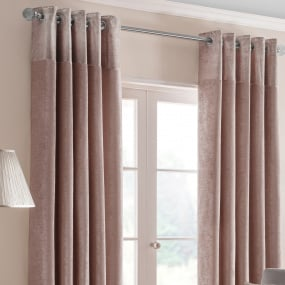 Belfield Nova Blush 66x54 Curtains