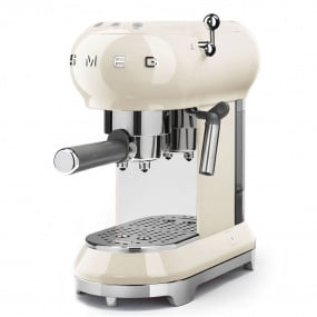 Smeg 50's Retro Style Cream Espresso Machine