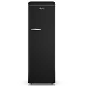 Swan Retro Black Tall Fridge