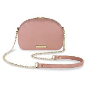 Katie Loxton Blush Pink Half Moon Bag