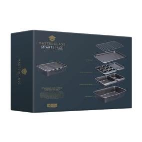 MasterClass Smartspace Non-stick 7 Piece Stackable Bakeware Set