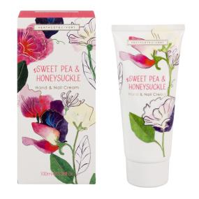 Heathcote and Ivory Sweet Pea and Honeysuckle Hand Cream