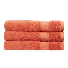 Christy Rialto Terracotta Bath Towel