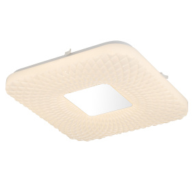 Globo Findus Quilted LED Flush Ceiling Light