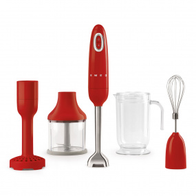 Smeg 50's Retro Style Red Hand Blender