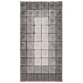 Velvet 3D Cube Grey 80cm x 150cm Rug