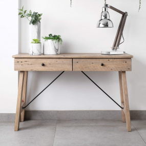 Vancouver Reclaimed Wood Console Table - Lifestyle | Housing Units