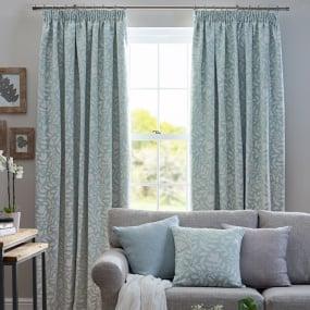 Belfield Elenor Aqua 66x54 Curtains