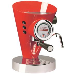 Bugatti Diva Red Espresso Machine