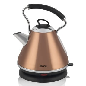Swan Townhouse Copper 1.7 Litre Pyramid Kettle