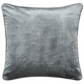 Peacock Blue Escala Steel Cushion